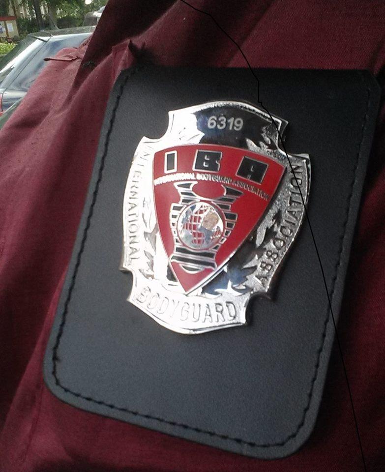 国际保镖协会会员徽章